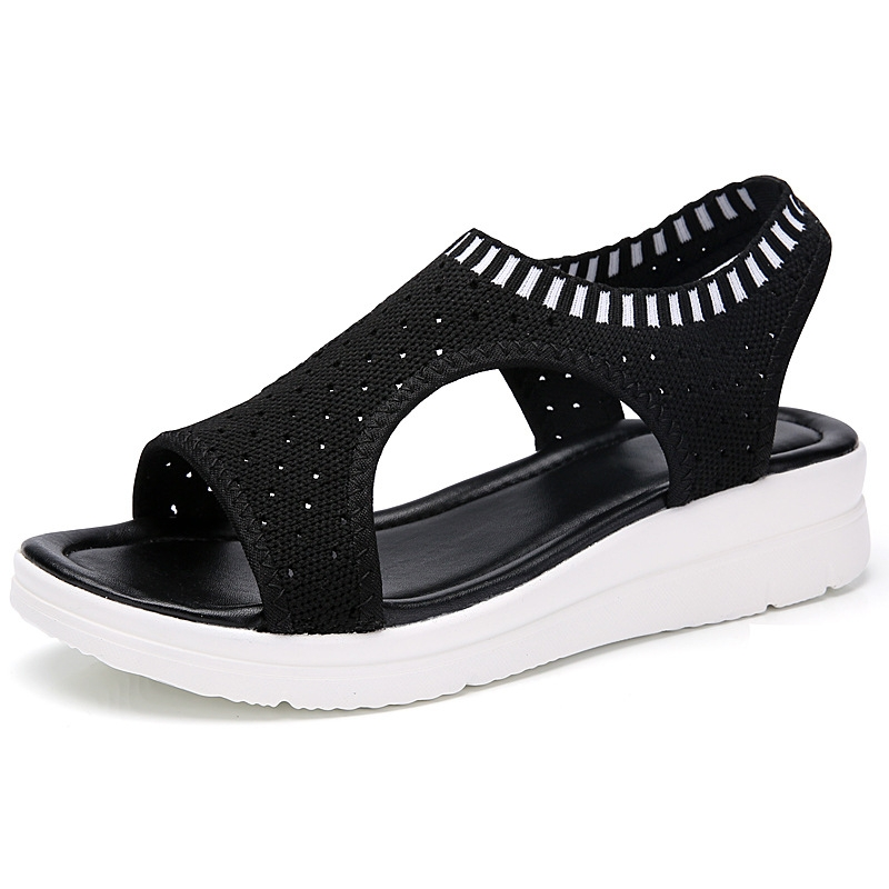 03212f28d461 Fashion Women Sandals For 2019 Breathable Comfort Shopping Ladies ...