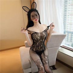 New Style sweet sexy lingerie costumes sexy underwear for female  sexy product lingerie Mesh fancy blue free size