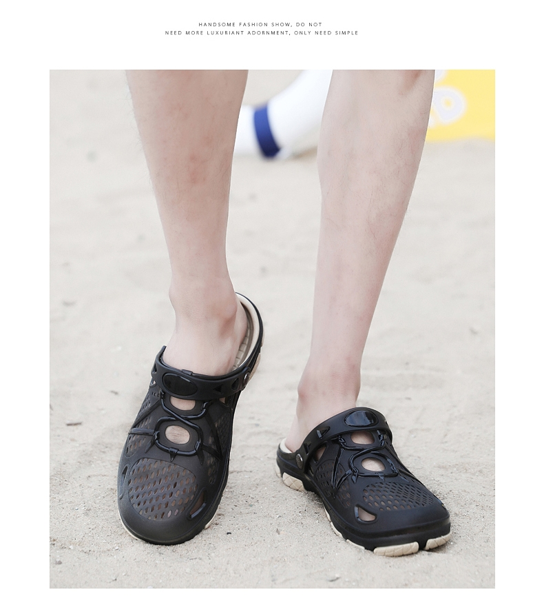 a69039a51ca9 2019 New Men Sandals Summer Slippers Men Outdoor Beach Casual Shoes Cheap  Male Sandals Water Shoes black 41   Kilimall Kenya