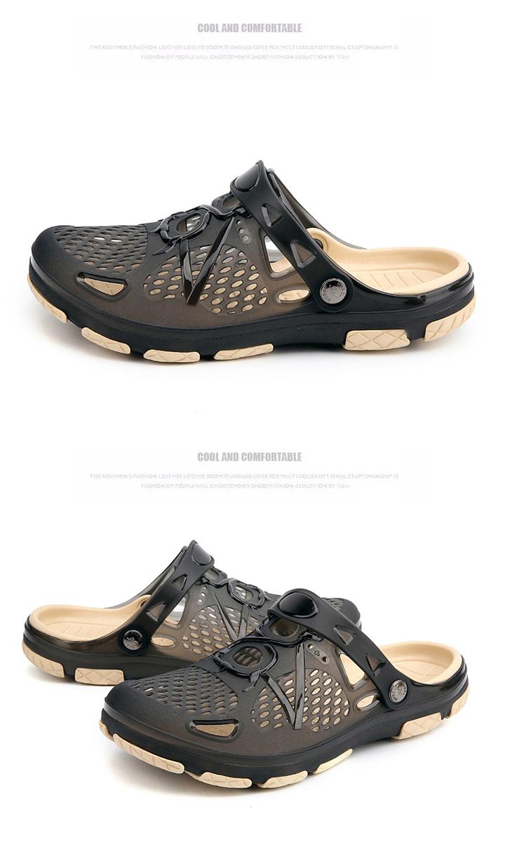8d85bce14e89 2019 New Men Sandals Summer Slippers Men Outdoor Beach Casual Shoes Cheap Male  Sandals Water Shoes