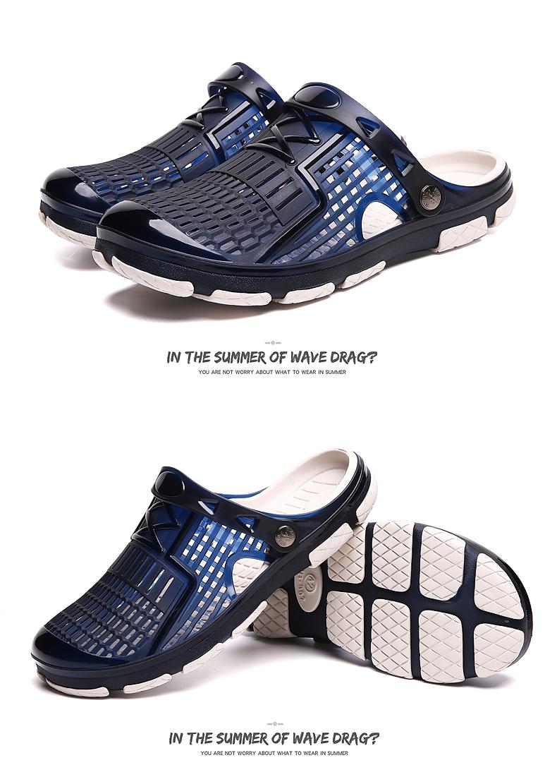 e4f5369acd60 2019 New Men Sandals Summer Slippers Men Outdoor Beach Casual Shoes ...