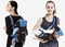 0-30 Months Breathable Front Facing Infant Comfortable Sling Backpack Pouch Wrap Baby Kangaroo New blue as picture