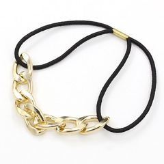 Creative Design Women Hair Band Chain Elastic Hair String Women Jewellery New Hair Accessories