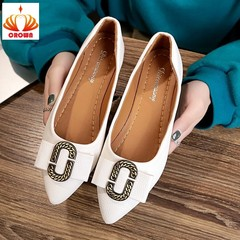 Women Shoes Ladies Platform Loafers Luxury Shoe Women Designers Casual Solid Shoe Flats Fashion white 38