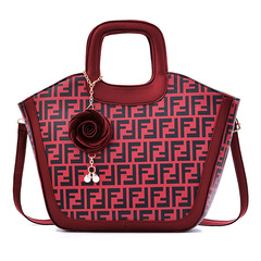 Women Handbags NO.32 wine red one size