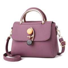 Women Handbags No.35 deep purple 22*17*12