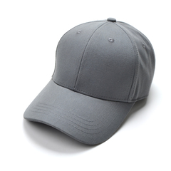2019 Fashion Hat for Men and Women solid/Plain Sport  Basketball hat  with metal adjustable buckle GREY ONE SIZE