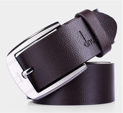 High-quality leather belts for men and luxury belts for men black 100-135cm