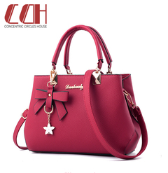 Hot style 2019 big sale, flash sale, chic and exquisite one-shoulder bag wine red one size