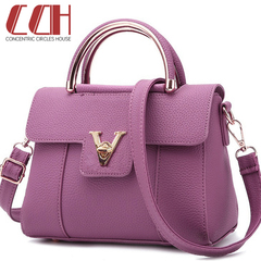 2019 crazy promotion, flash sale, fashion trend women's bag, sweet shu women shoulder handbag purple one size
