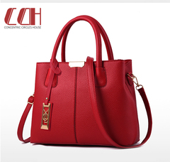 2019 crazy sale, loss of sale, new women's single-shoulder cross handbag wine red one size