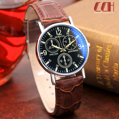 2019 crazy promotion, sale hot sale, hot style fashion quartz men's watch Brown with brown one size