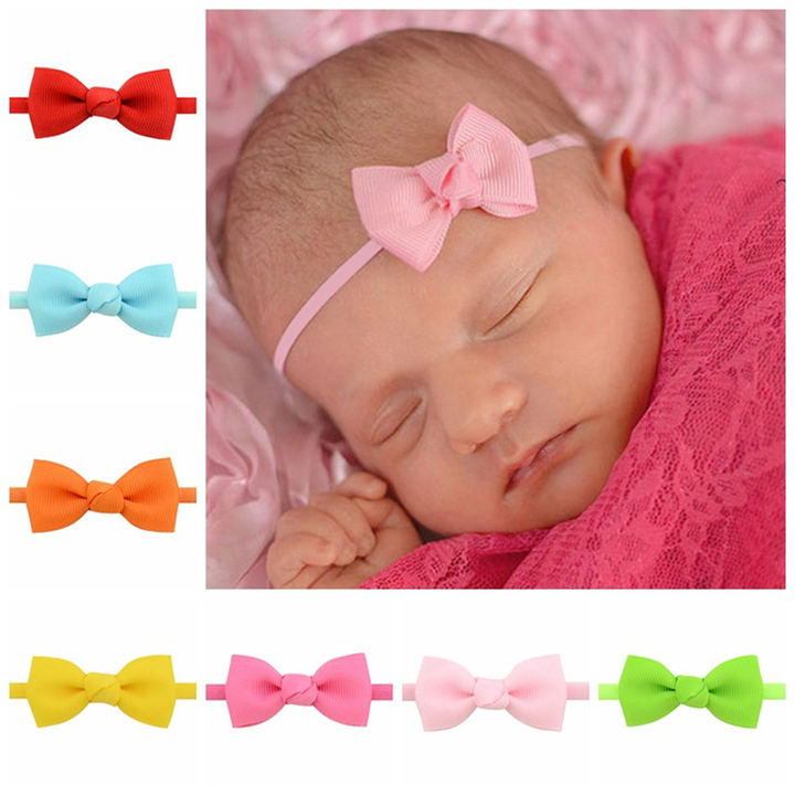 Child Headwear Ribbon Butterfly Headwear, Soft Headwear, Baby Headwear 5