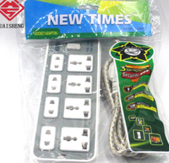 Power Strip 4 Universal Socket white