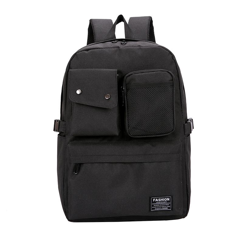 249c43c1a0 Fashion Women Backpacks School Backpack Bags for Girls Men Black ...