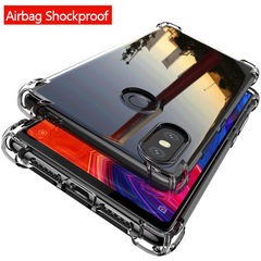 Explosion-proof Transparent Phone Case For iPhone 6 /7/8 Plus Huawei P30 Samsung S10 Cover Case one size iphone 6 6s case