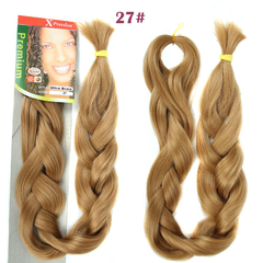 2016 Braid Synthetic Hair Blonde Fashion African Hair Piece Xpression  for Christmas Gift 1 94cm