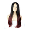 New Arrival Ombre Synthetic Hair Hot Sale Gradient Color Long Curly Hair  for Christmas Gift 2 71cm