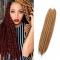 "2016 New Arrival 22"" Mambo Twist Braid Curly Hair Synthetic Braid Hair Extensions for Christmas Gift Light Brown 55cm"