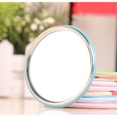 Colorful Pocket Cosmetic Decorative Mirror Sweet Cartoon Portable Small Mirror Mini Makeup Gift 1Pc