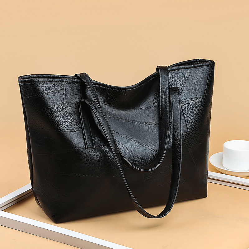 a08adbb59a1b Fashion Weave Women Handbag Large Capacity Casual Tote Shopper Bag PU  Leather Ladies Shoulder Bags Style2 Normal  Product No  10912942. Item  specifics ...