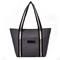 Large Capacity Oxford Shopping Tote Women Casual Shoulder Bag Ladies Handbag Waterproof Beach Bags Dark Gray Normal