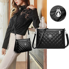2019 New Mid-aged Women Shoulder Bag High Quality Leather Messenger Bag Casual Crossbody Bag for Mum