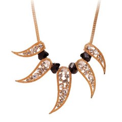 Stylish Women's Pepper Rhinestone Necklace