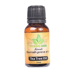 Clear Skin Tea Tree Oil Black