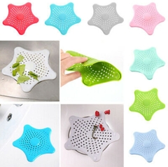 Sink Strainer Hair Shower Bath Basin Plug Hole Waste Catcher Stopper Accessories Green Small