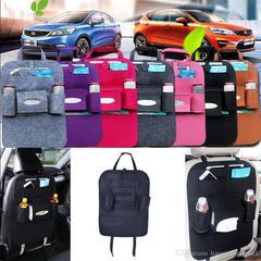 Car Seat Organiser Bag Black Normal
