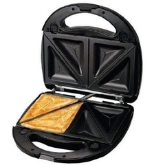 2 Slices Sandwich Maker black One Size