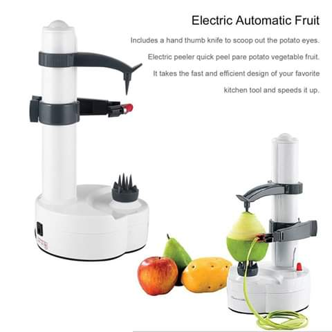 Potato/fruit peeler white