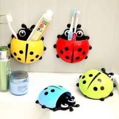 Ladybug toothbrush holder Multicolour medium