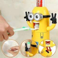 Minion toothpaste dispenser Yellow medium