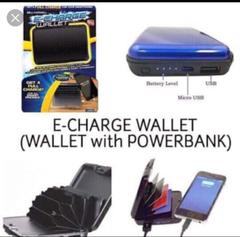 Powerbank Wallet Black 1000mAH