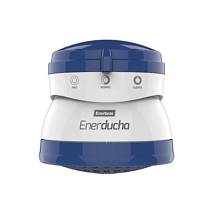 Enerbras Enerducha (3T) Instant Shower Water Heater Blue & White big