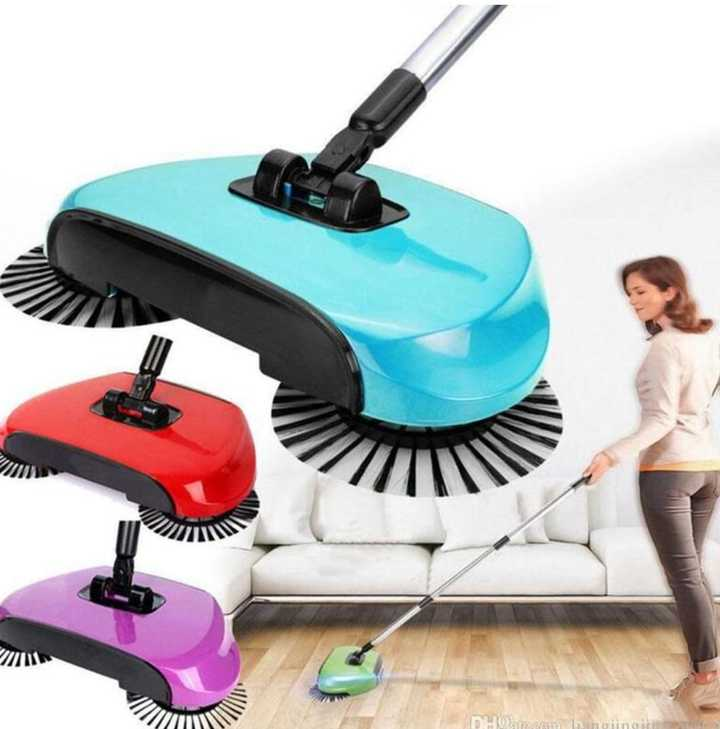 Rotating sweeper Blue One Size