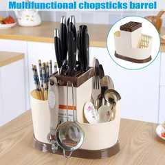 Cutlery organizer Brown one size