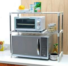 Microwave stand silver one size
