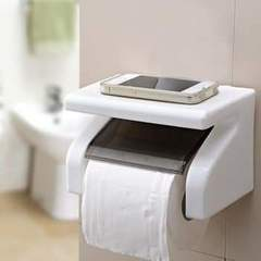 Tissue holder white one size