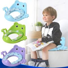 Toilet kids guard Purple one size