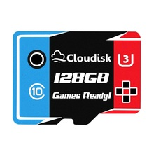Cloudisk Games Ready Memory Card 128GB 64GB 32GB Micro sd U3 U1 Class10 High Speed 5 Years Warranty as shown micro sd 128gb memory card