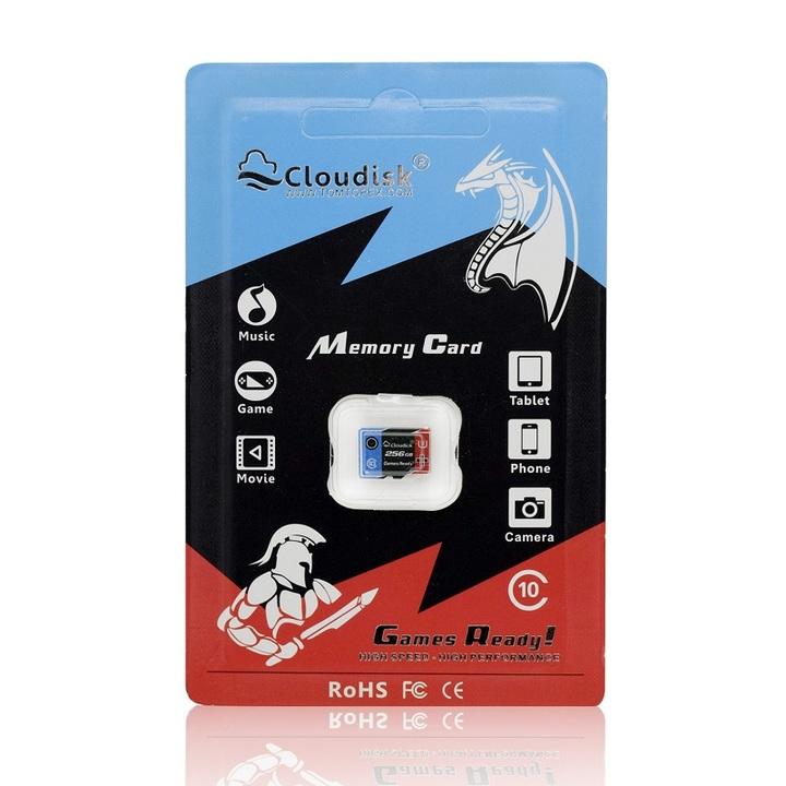 Cloudisk Games Ready Memory Card 256GB Micro sd U3 High Speed Class10 Real Capacity 5 Years Warranty as shown micro sd 256GB memory card
