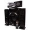 GoldenTech GT-T3L Multimedia Speaker System 3.1 USB SD Card Reader Bluetooth and FM Radio Woofer black 10000W GT-T3L