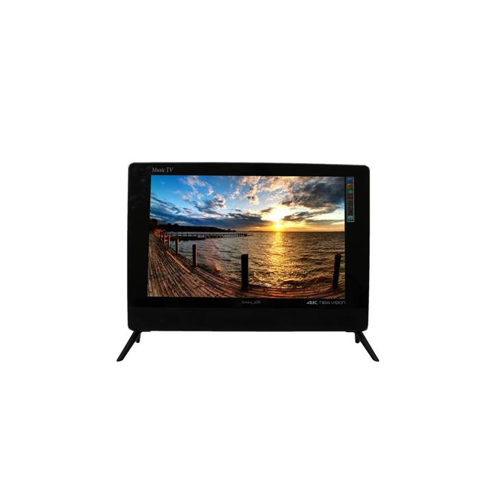 "GoldenTech 24"" HD LED TV DV3T2 Energy Saving black 24 inch"