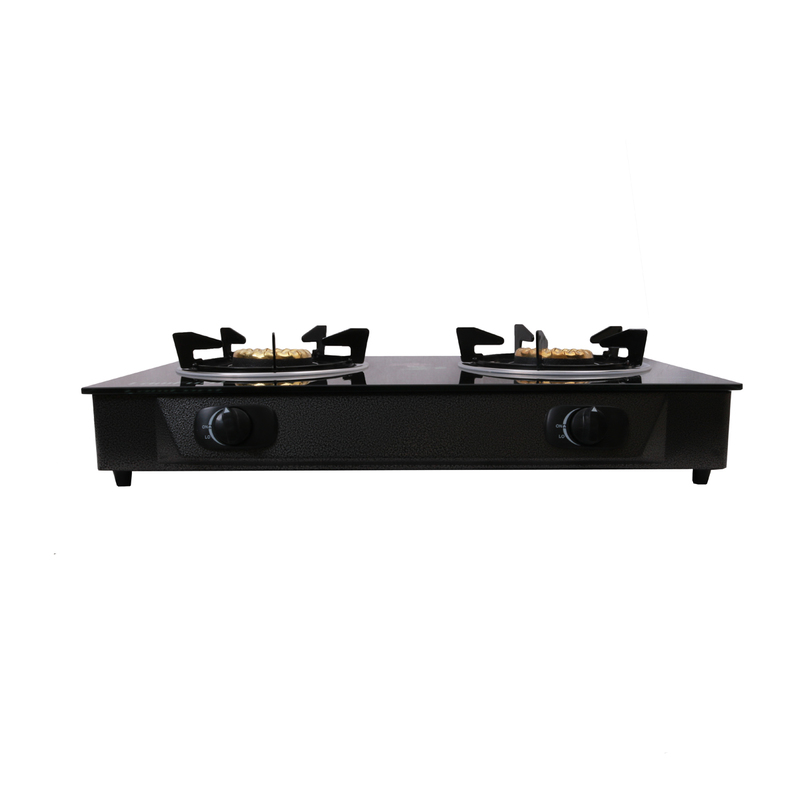 2 Burner LamFord House Hold Gas Stove GD-149 Glass Top Gas Cooker 6