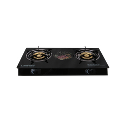 2 Burner LamFord House Hold Gas Stove GD-156 Glass Top Gas Cooker