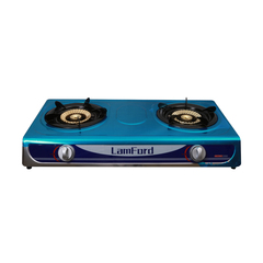 2 Burner LamFord House Hold Gas Stove GD-010 Stainless Steel Gas Cooker