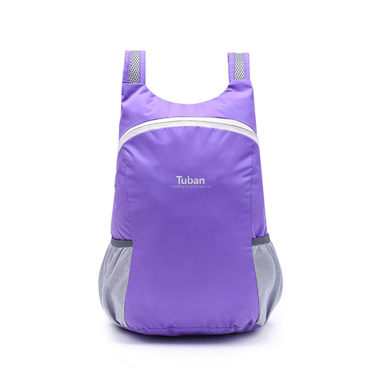 big size Travel backpack f ultralight sports bags portable foldable backpacks outside purple one size